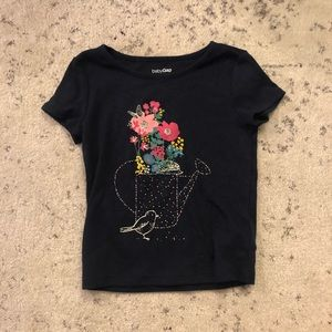 GAP Flower Water Can Tee